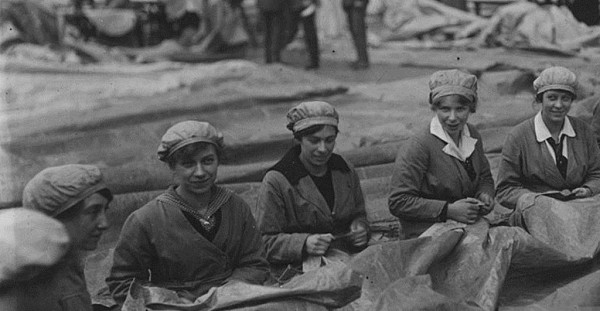 Image of women working from East End Women's Museum