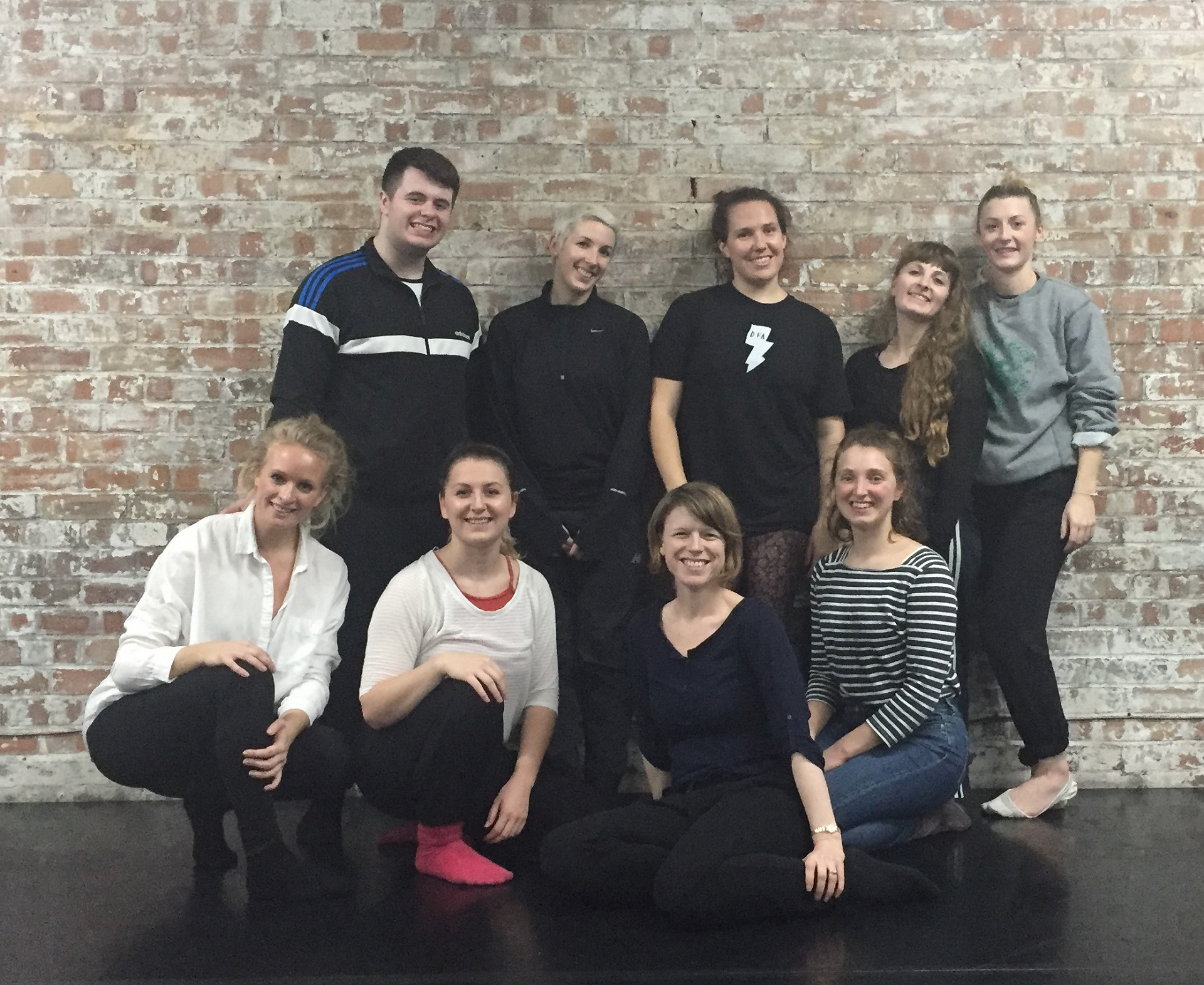 Local dancers and core cast in rehearsal for The Imagination Museum