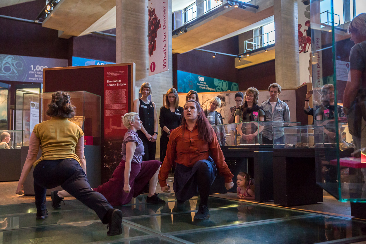 Dancers perform at The Collection Museum at an Imagination Museum consortium event, May 2019