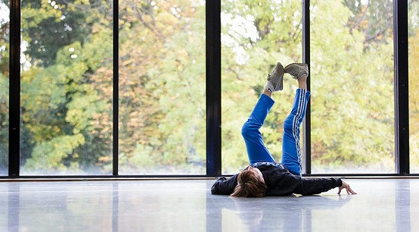 Lucy Suggate at Museum Boijmans Van Beuningen, Dancing Museums partnership, 2015