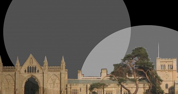 Image of Newstead Abbey created by Eleanor Sikorski